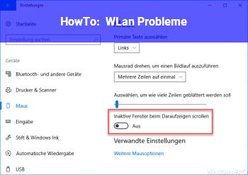 HowTo WLan Probleme