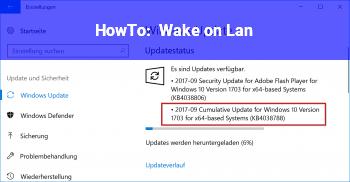 HowTo Wake on Lan