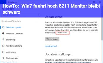 HowTo Win7 fährt hoch – Monitor bleibt schwarz