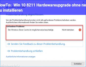 HowTo Win 10 – Hardewareupgrade ohne neu zu installieren?