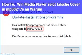 HowTo Win Media Player zeigt falsche Cover in mp3's an. Warum?