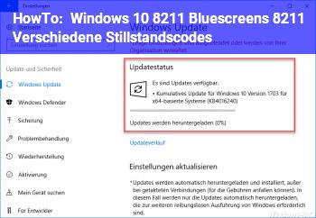 HowTo Windows 10 – Bluescreens – Verschiedene Stillstandscodes