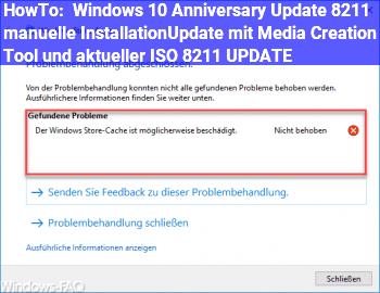 HowTo Windows 10 Anniversary Update – manuelle Installation/Update mit Media Creation Tool und aktueller ISO – UPDATE
