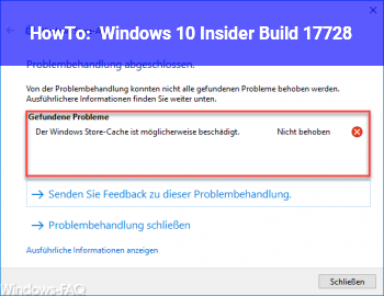 HowTo Windows 10 Insider Build 17728
