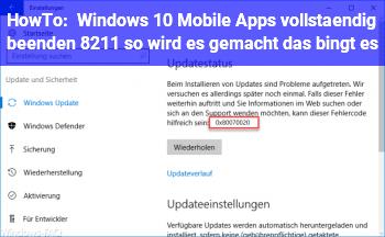 HowTo Windows 10 Mobile: Apps vollständig beenden – so wird es gemacht, das bingt es