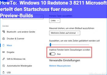 HowTo Windows 10 Redstone 3 – Microsoft erteilt den Startschuss für neue Preview-Builds