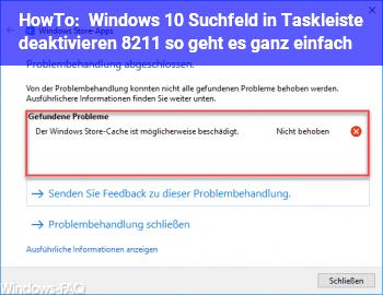 HowTo Windows 10: Suchfeld in Taskleiste deaktivieren – so geht es ganz einfach