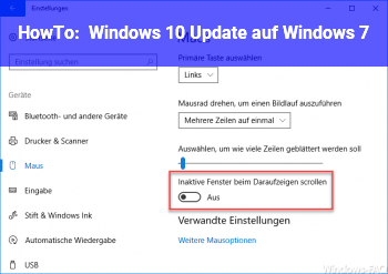 HowTo Windows 10 Update auf Windows 7