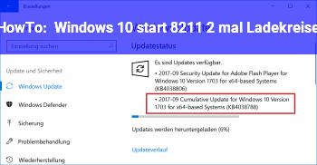 HowTo Windows 10 start – 2 mal Ladekreise