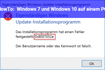 HowTo Windows 7 und Windows 10 auf einem PC