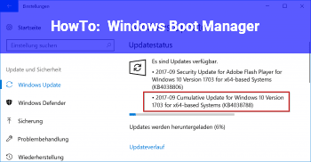 HowTo Windows Boot Manager