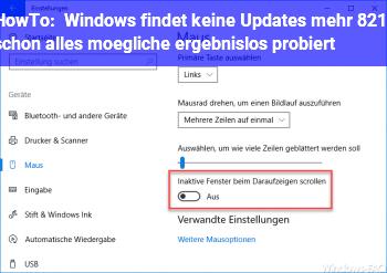 HowTo Windows findet keine Updates mehr – schon alles mögliche ergebnislos probiert