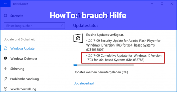 HowTo brauch Hilfe