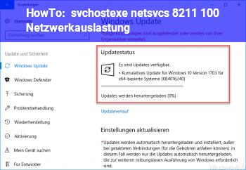 HowTo svchost.exe (netsvcs) – 100% Netzwerkauslastung