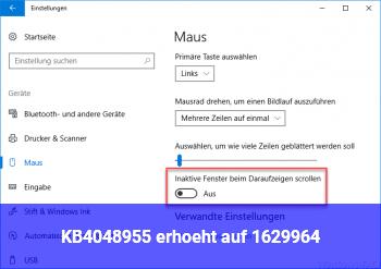 KB4048955 erhöht auf 16299.64