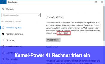 Kernel-Power 41 Rechner friert ein