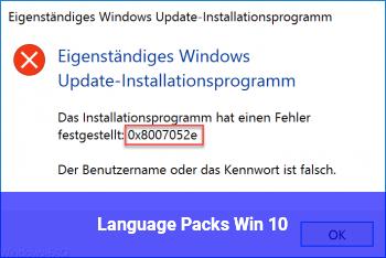 Language Packs Win 10