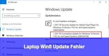 Laptop Win8 Update Fehler