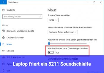 "Laptop friert ein – ""Soundschleife"""