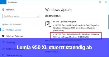 Lumia 950 XL stürzt ständig ab