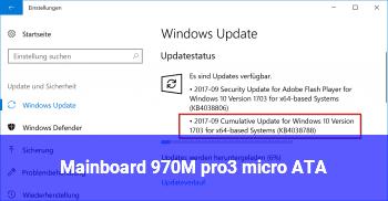 Mainboard 970M pro3 micro ATA