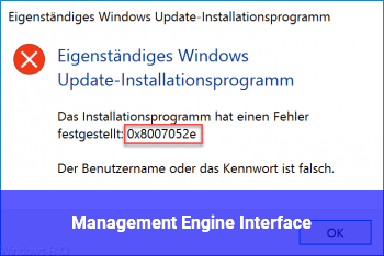 Management Engine Interface