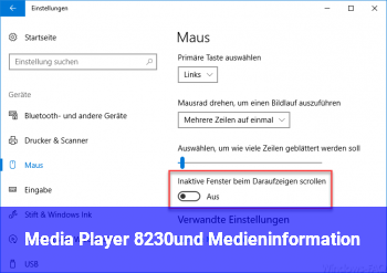 Media Player? …und Medieninformation??