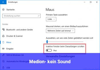 Medion- kein Sound