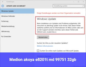 Medion akoya e8201t (md 99751) 32gb
