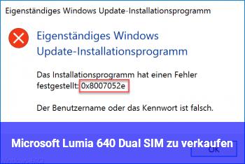 Microsoft Lumia 640 Dual SIM zu verkaufen