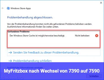 My!Fritzbox nach Wechsel von 7390 auf 7590