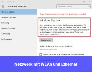 Netzwerk mit WLAn und Ethernet