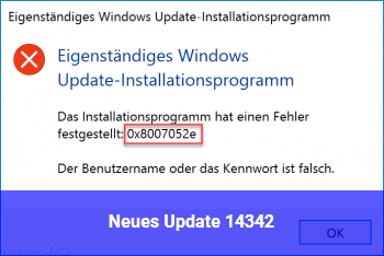 Neues Update 14342