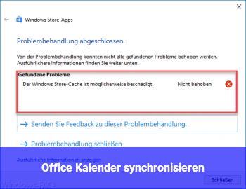 Office Kalender synchronisieren