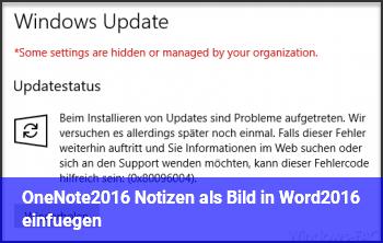 OneNote2016 Notizen als Bild in Word2016 einfügen