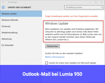 Outlook-Mail bei Lumia 950