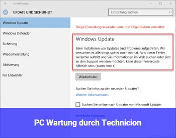 "PC_Wartung durch ""Technicion"""