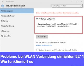Probleme bei WLAN Verbindung einrichten – Wie funktioniert es?