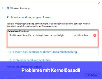 Probleme mit KernelBase.dll