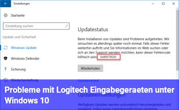 Probleme mit Logitech Eingabegeräten unter Windows 10