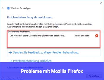 Probleme mit Mozilla Firefox