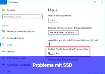 Probleme mit SSD