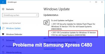 Probleme mit Samsung Xpress C480