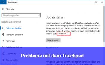 Probleme mit dem Touchpad