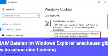 RAW Dateien im Windows Explorer anschauen, gibt es da schon eine Lösung?