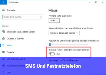 SMS Und Festnetztelefon