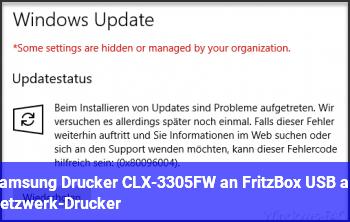 Samsung Drucker CLX-3305FW an Fritz.Box USB als Netzwerk-Drucker