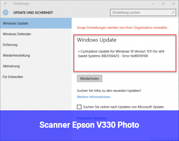 Scanner Epson V330 Photo