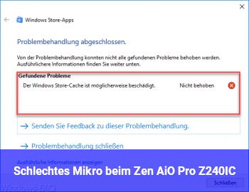 Schlechtes Mikro beim Zen AiO Pro Z240IC