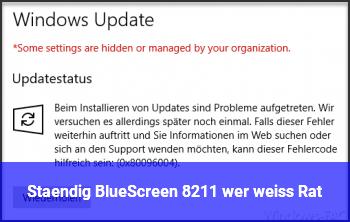Ständig BlueScreen – wer weiß Rat ?